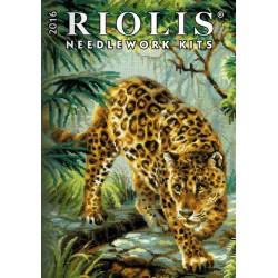 RIOLIS 2016 metų siuvinėjimo rinkių katalogas. Popierinis variantas.