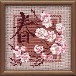 """RIOLIS - Create It Yourself - Siuvinėjimo rinkinys """"Pavasaris"""" 812 (20x20 cm)"""
