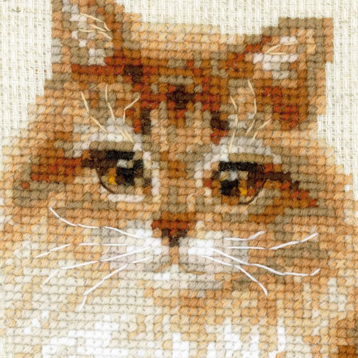 Вышивки крестом кошки фото 72