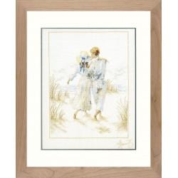 """Lanarte: Siuvinėjimo rinkinys """"Romantika"""" PN/0007948 (29x39 cm)"""
