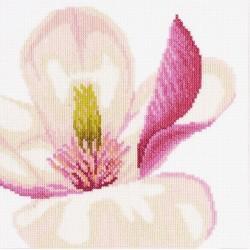 """Lanarte: Siuvinėjimo rinkinys """"Magnolijos žiedas"""" PN/0008163 (20x20 cm)"""