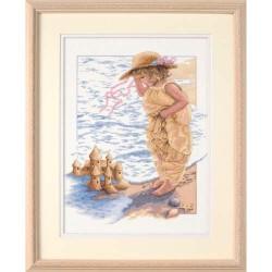 DIMENSIONS Sandcastle Dreams, Counted Cross Stitch_13730