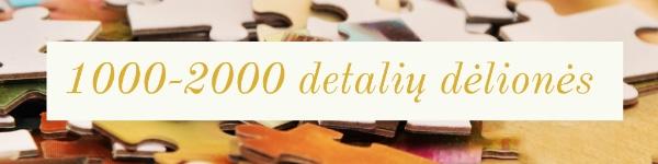 1000 2000 detalių dėlionės
