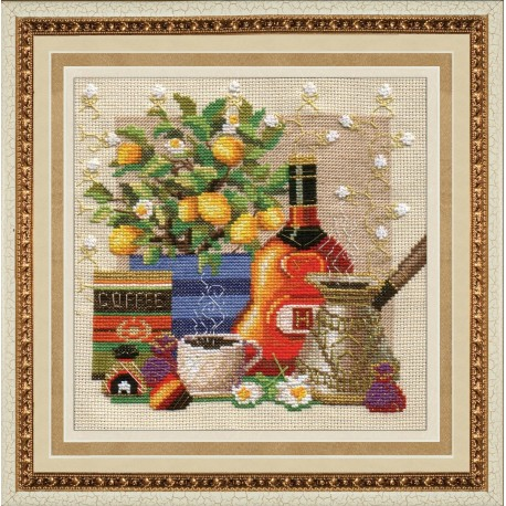SM006 cross stitch kit by Golden Hands