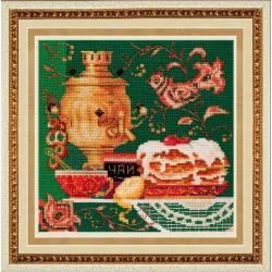SM019 cross stitch kit by Golden Hands