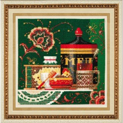 SM020 cross stitch kit by Golden Hands