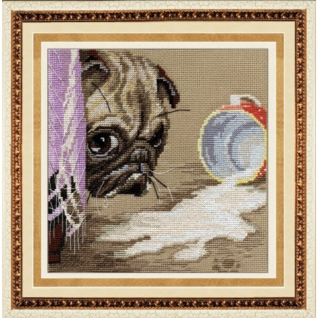 SM023 cross stitch kit by Golden Hands