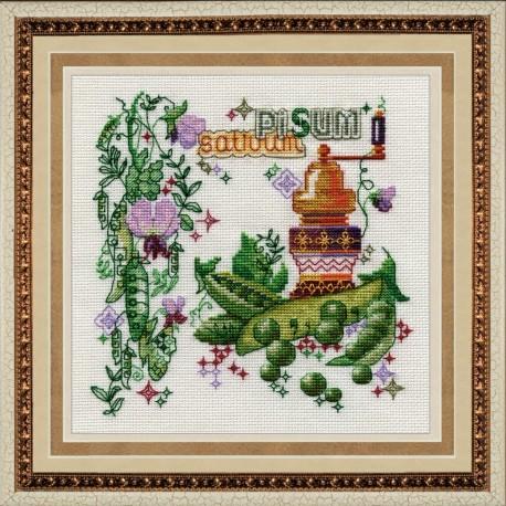 SM025 cross stitch kit by Golden Hands