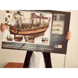 Amazing Scale Ship Kit! Occre Endeavour 1:54 Scale.