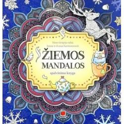 ŽIEMOS MANDALOS: pajauskite darną su savimi ir pasauliu, spalvindami žiemos ornamentus