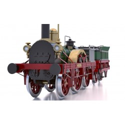 Occre Adler Steam Train Locomotive 1:24 Scale Wood/Metal Model Kit 54001