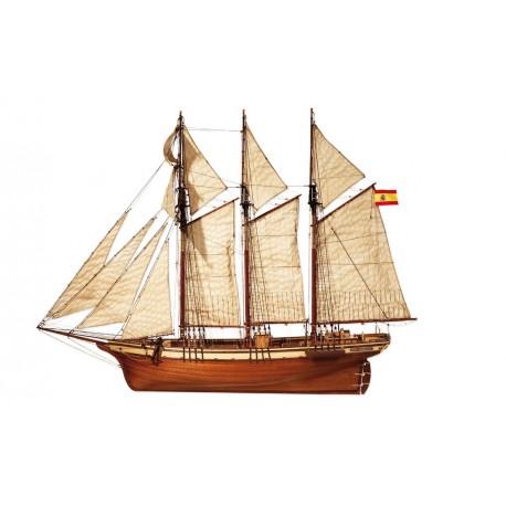"Occre ""Cala Esmeralda"" 1:58 Scale Model Ship Kit 13002"