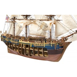 Occre Bounty 1:45 (14006) Model Boat Kit - Cutaway Hull!