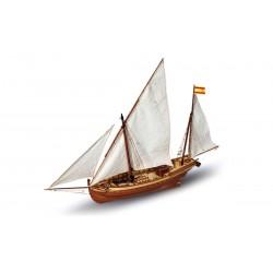 """Trijų burių jūrinis laivas """"San Chuanas"""""""