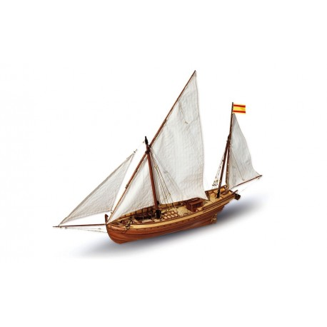OcCre San Juan Sail Boat 1:70 Scale Very Detailed Model Kit 12001