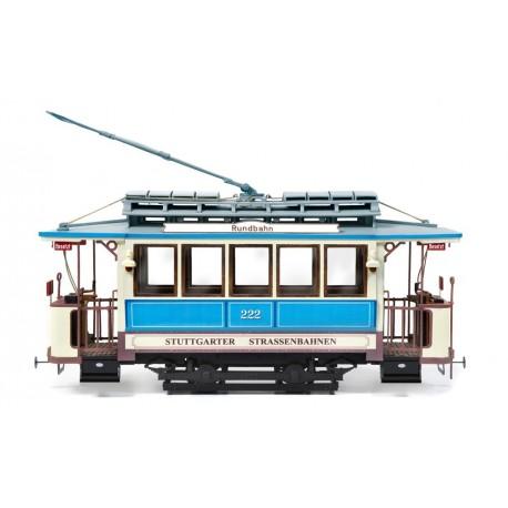Occre Stuttgart 222 German Tram 1:24 Scale Wood & Metal Model Display Train Kit