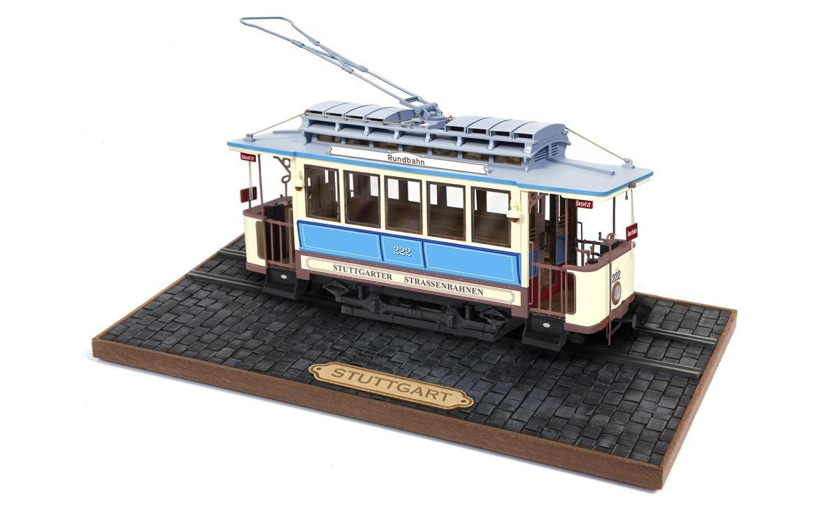 Occre Stuttgart 222 German Tram 1:24 Scale Wood /& Metal Model Display Train
