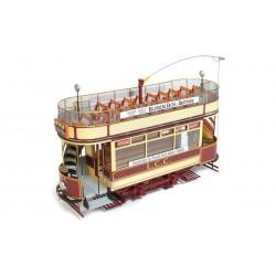 Occre London Tram LCC106 1:24 (53008) Wodden Model Kit