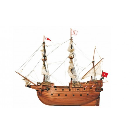 """Beautiful, brand new wooden model ship kit by Occre: the """"San Martin"""" galleon"""