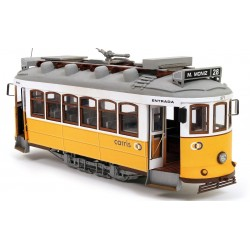 Occre Lisbon Tram 1:24 Scale Wood & Metal Model Kit Lisboa 53005