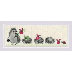 Hedgehogs siuvinėjimo rinkinys iš RIOLIS Nr.: 1711