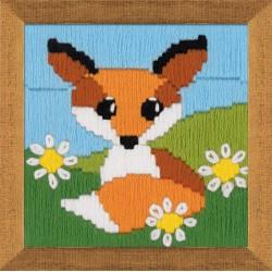 Fox In Daisies siuvinėjimo rinkinys iš RIOLIS Nr.: 1714