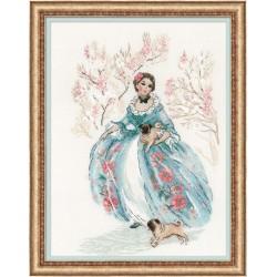 Rococo. Stroll siuvinėjimo rinkinys iš RIOLIS Nr.: 1723