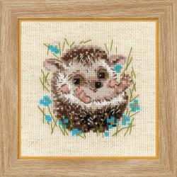 Little Hedgehog siuvinėjimo rinkinys iš RIOLIS Nr.: 1753