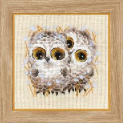 Little Owls siuvinėjimo rinkinys iš RIOLIS Nr.: 1755