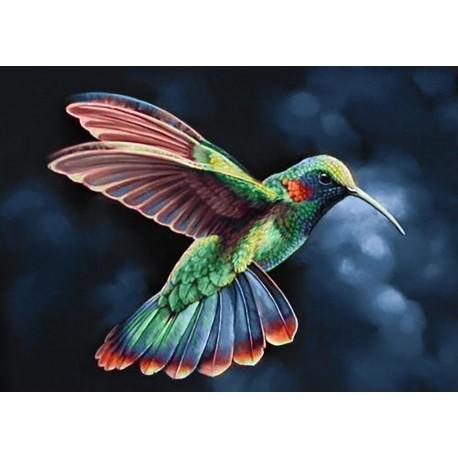 Diamond painting kit Tropic Bird WD058