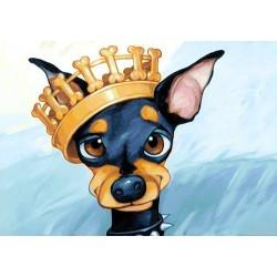 Deimantinis paveikslas King Toy WD189 30*20 cm