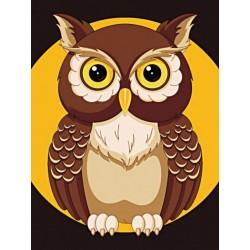 Deimantinis paveikslas Night Owl WD308 15*20 cm