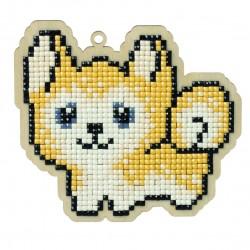 Deimantinės mozaikos suvenyras Dog Jack WW107