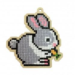 Deimantinės mozaikos suvenyras Rabbit WW108