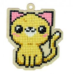 Deimantinės mozaikos suvenyras Cat Eugene WW109