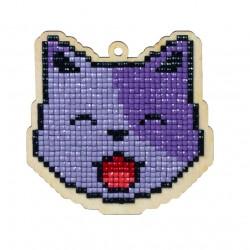 Deimantinės mozaikos suvenyras Cat Lucky WW112