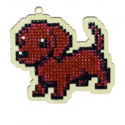 Deimantinės mozaikos suvenyras Dog Max WW113