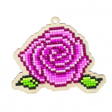 Diamond mosaic souvenir Rose WW122