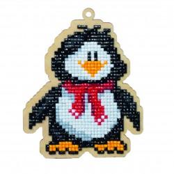 Deimantinės mozaikos suvenyras Penguin Willie WW129