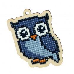Deimantinės mozaikos suvenyras Grey Owl WW155