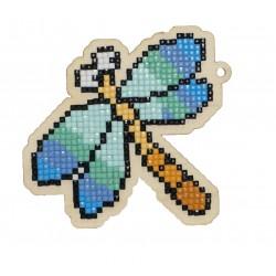 Deimantinės mozaikos suvenyras Dragonfly WW196