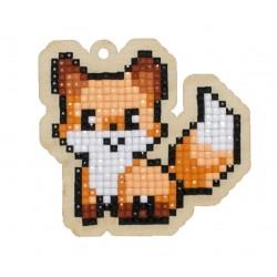 Deimantinės mozaikos suvenyras Fox WW254