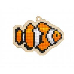 Deimantinės mozaikos suvenyras Clown Fish WW260