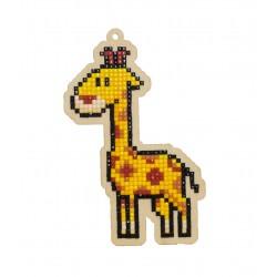 Deimantinės mozaikos suvenyras Giraffe WW261