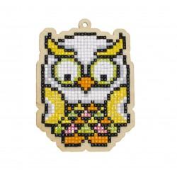 Deimantinės mozaikos suvenyras Tropical Owl WW277