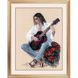 Guitarist siuvinėjimo rinkinys iš RIOLIS Nr.: 1766