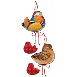 Mandarin Ducks siuvinėjimo rinkinys iš RIOLIS Nr.: 1769