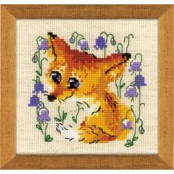 Little Fox siuvinėjimo rinkinys iš RIOLIS Nr.: 1776