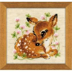 Little Deer siuvinėjimo rinkinys iš RIOLIS Nr.: 1777