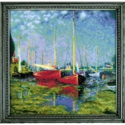 Argenteuil after C. Monet's Painting siuvinėjimo rinkinys iš RIOLIS Nr.: 1779